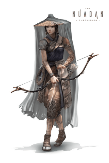 The Nuadan Chronicles - female characters