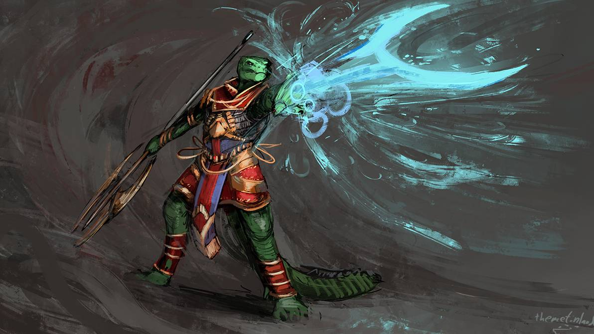 Lizardfolk cleric