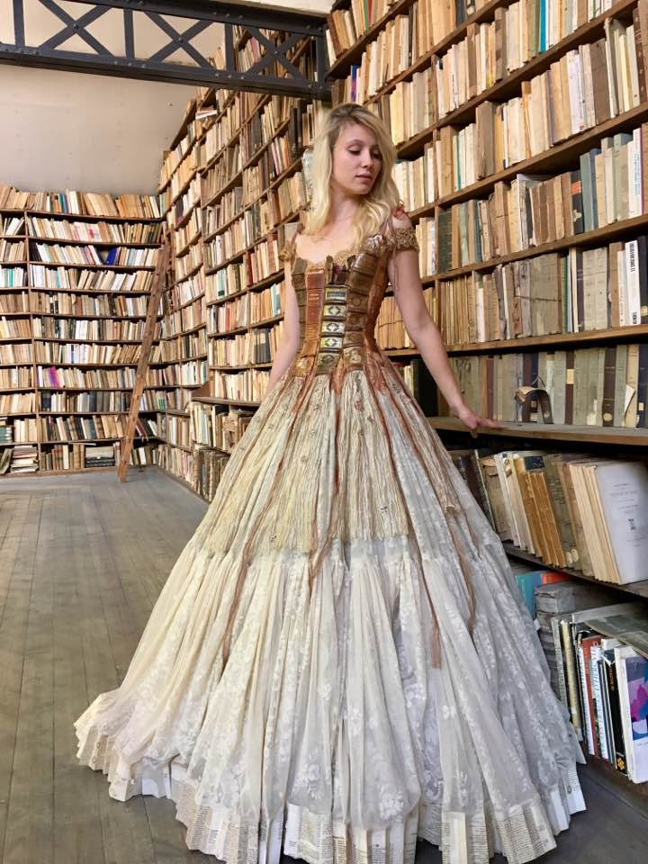 library cosplay