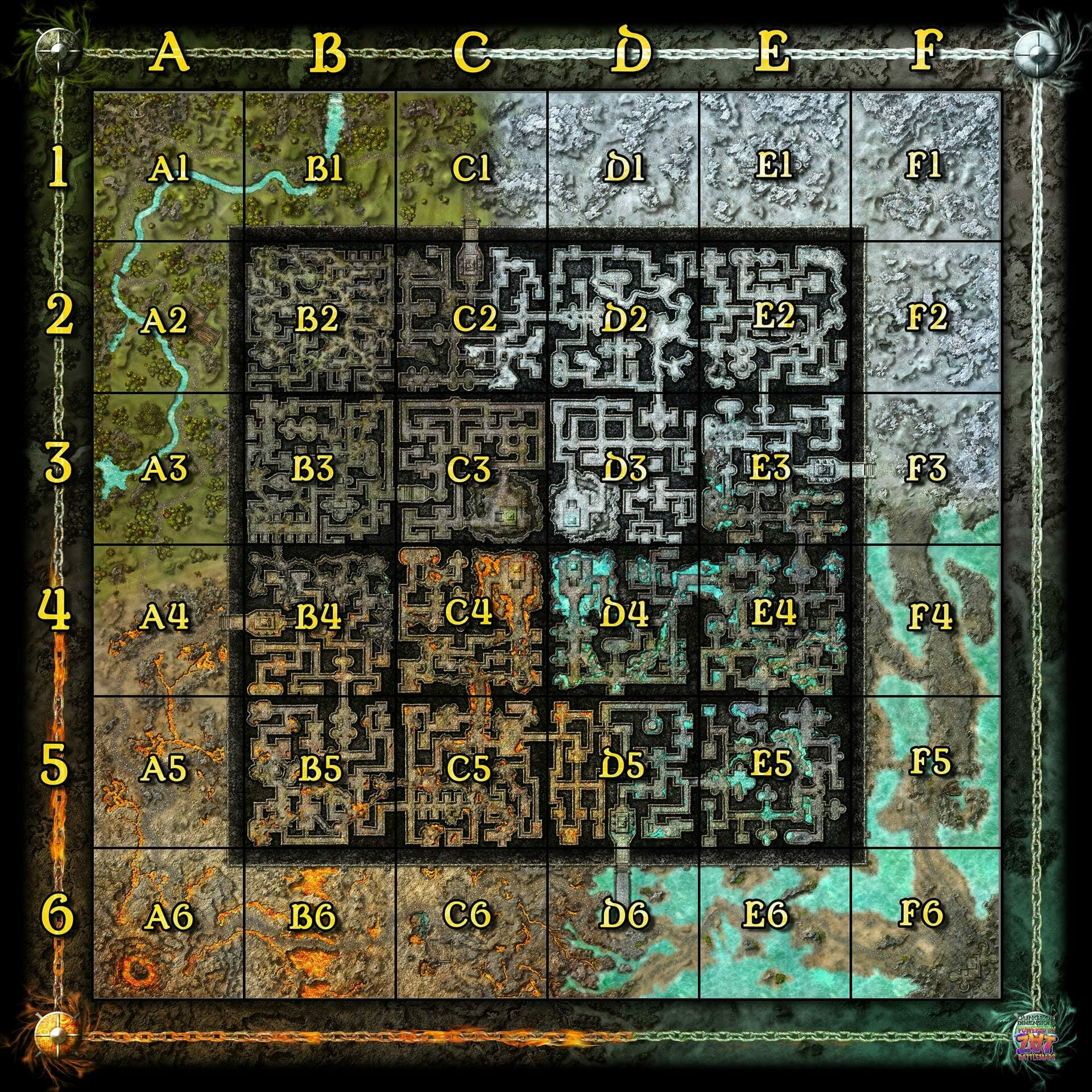 Dungeon Dimensions guide