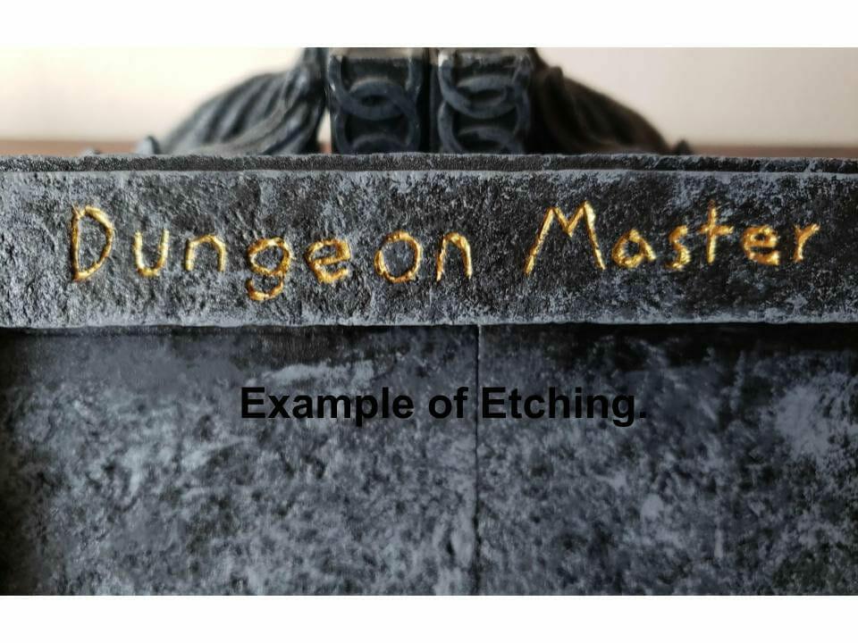 Dungeon Master etching
