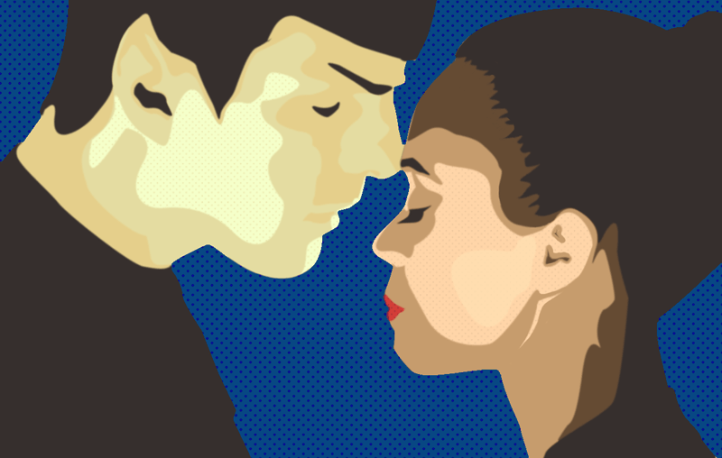 Spock and Uhura by Jazia Death