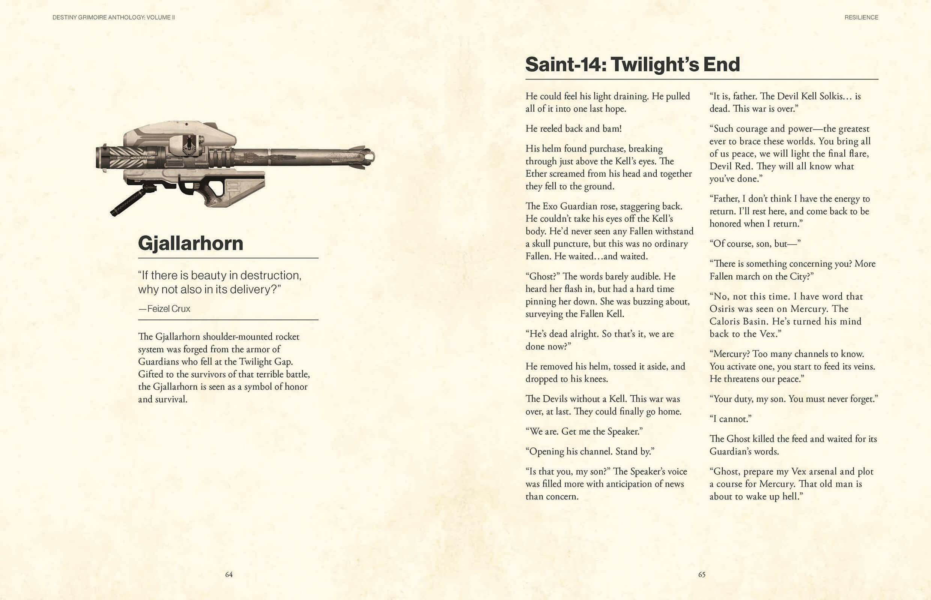 Destiny Grimoire Anthology – Volume II: Fallen Kingdoms