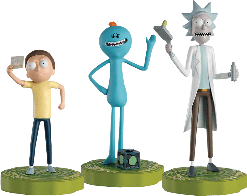 Rick and Morty figurines