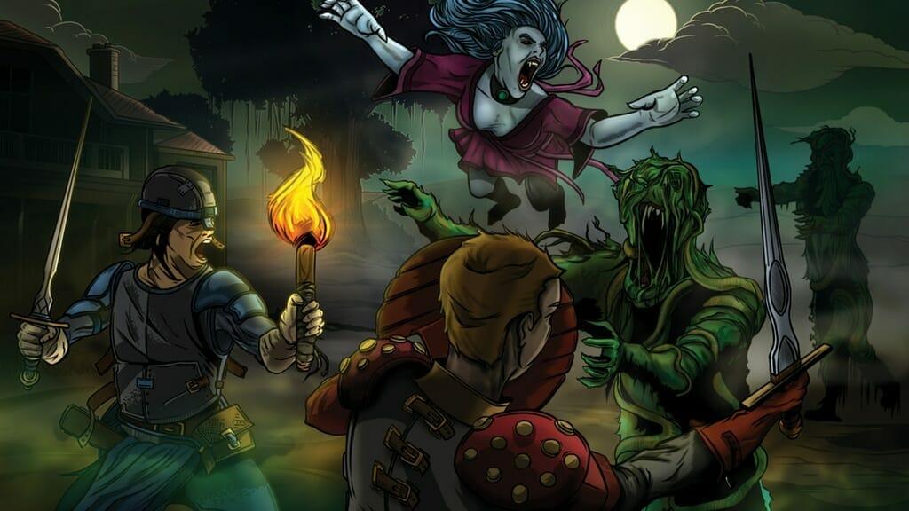 Dread Swamp of the Banshee