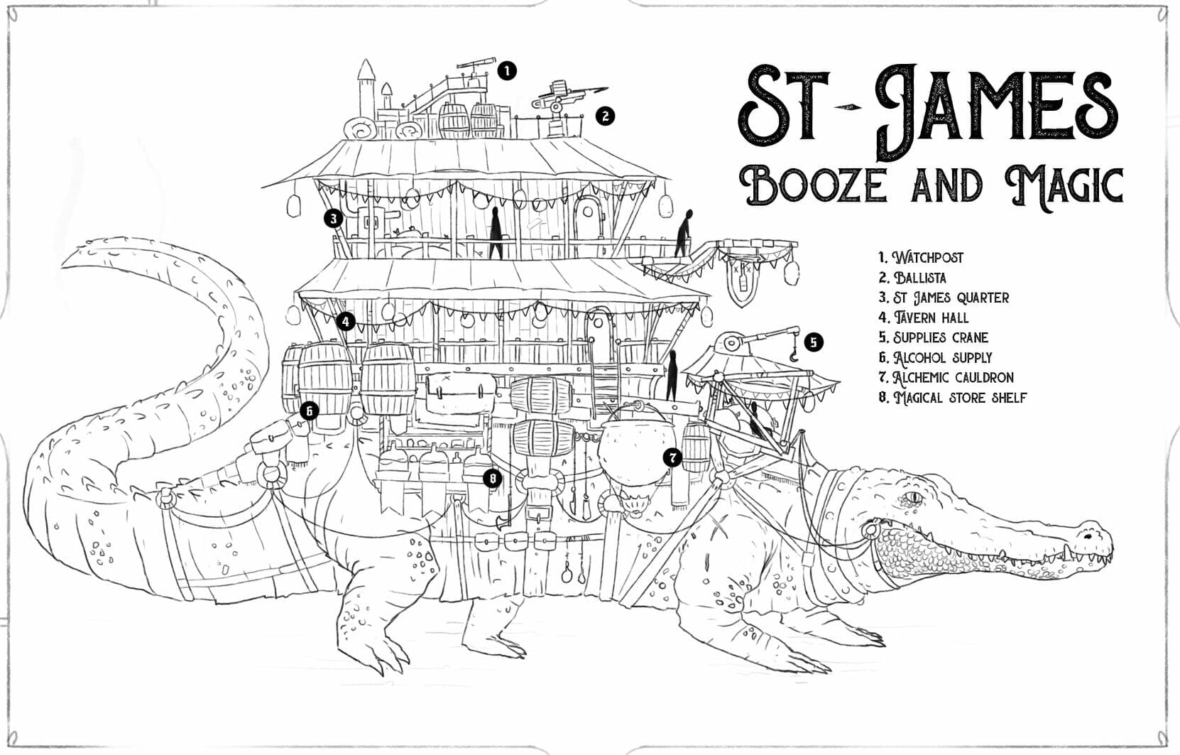 St James Booze and Magic