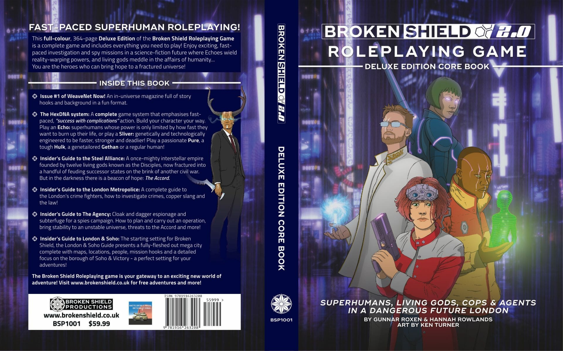 The Broken Shield Roleplaying Game: Deluxe Edition Core Book