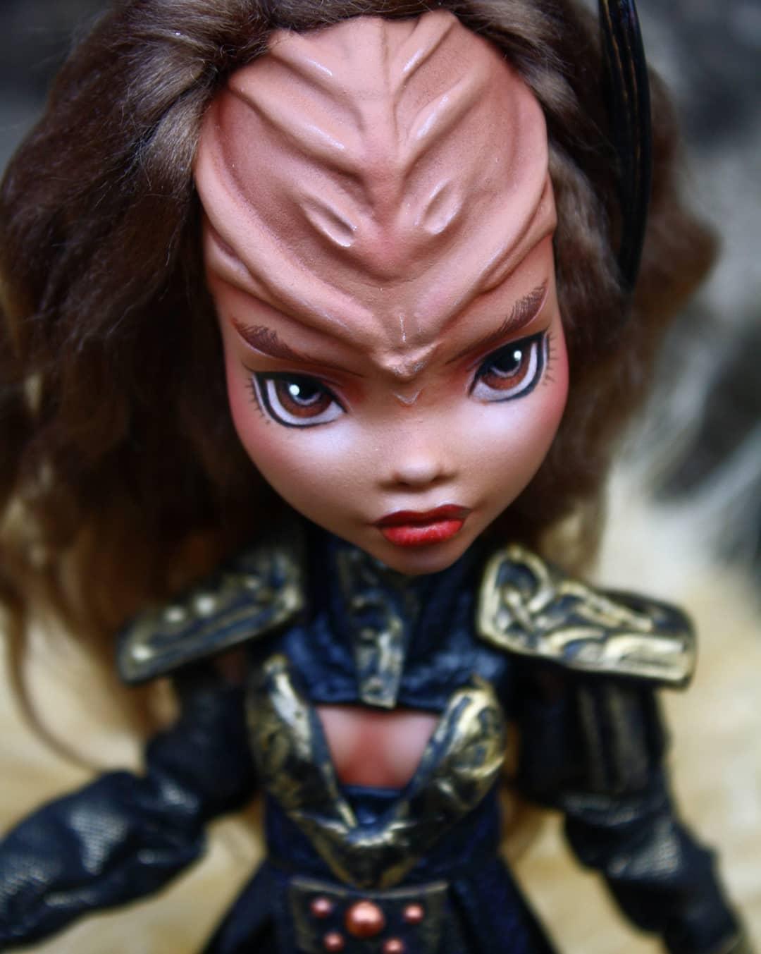 Klingon dolls