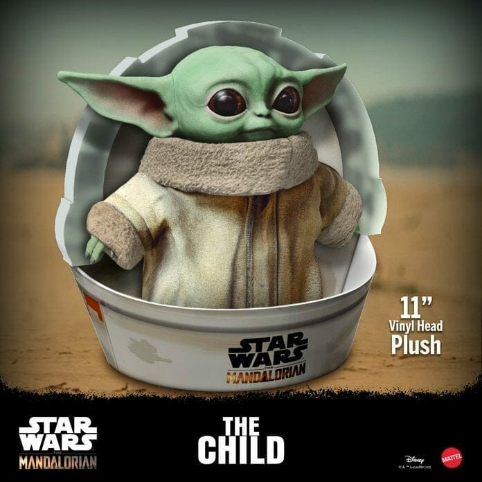 Baby Yoda (The Child) Plushie