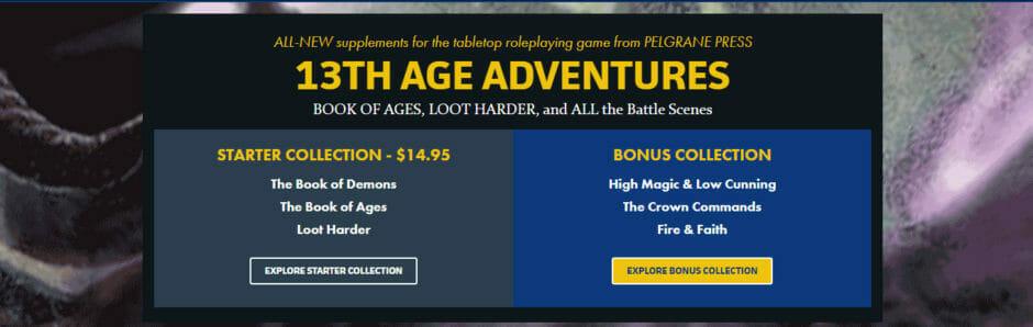 13th Age Adventures Bundle