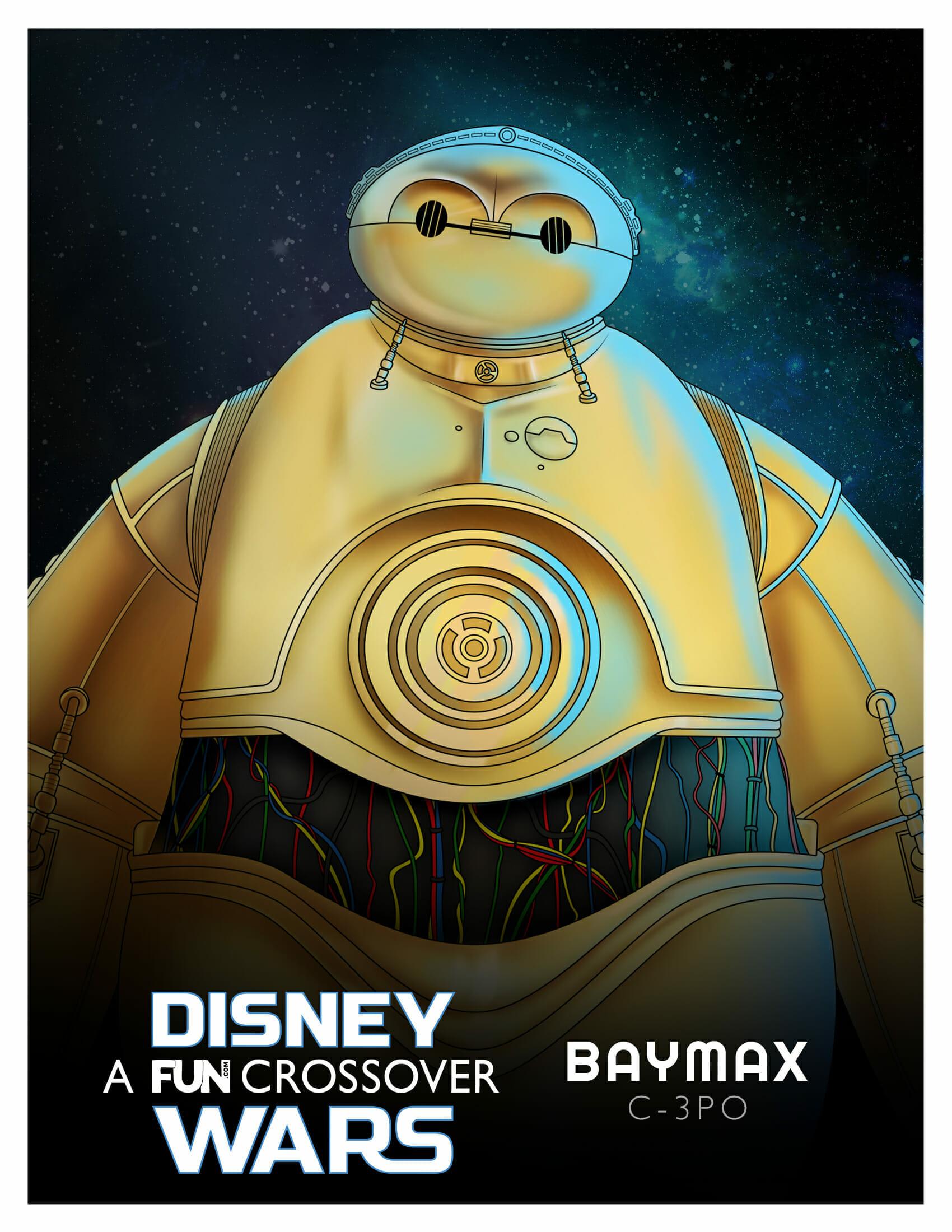 Baymax C3PO