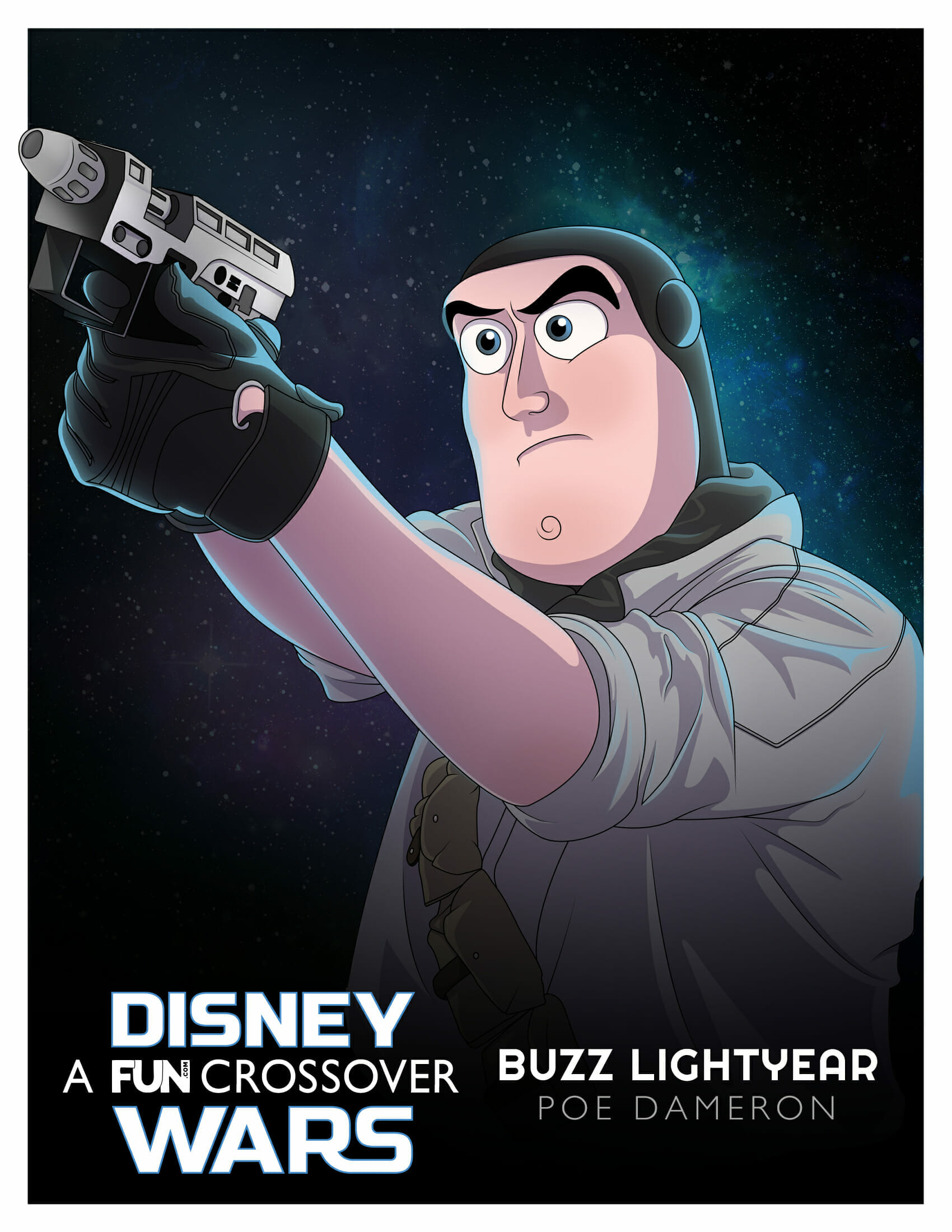 Buzz Lightyear Poe Dameron