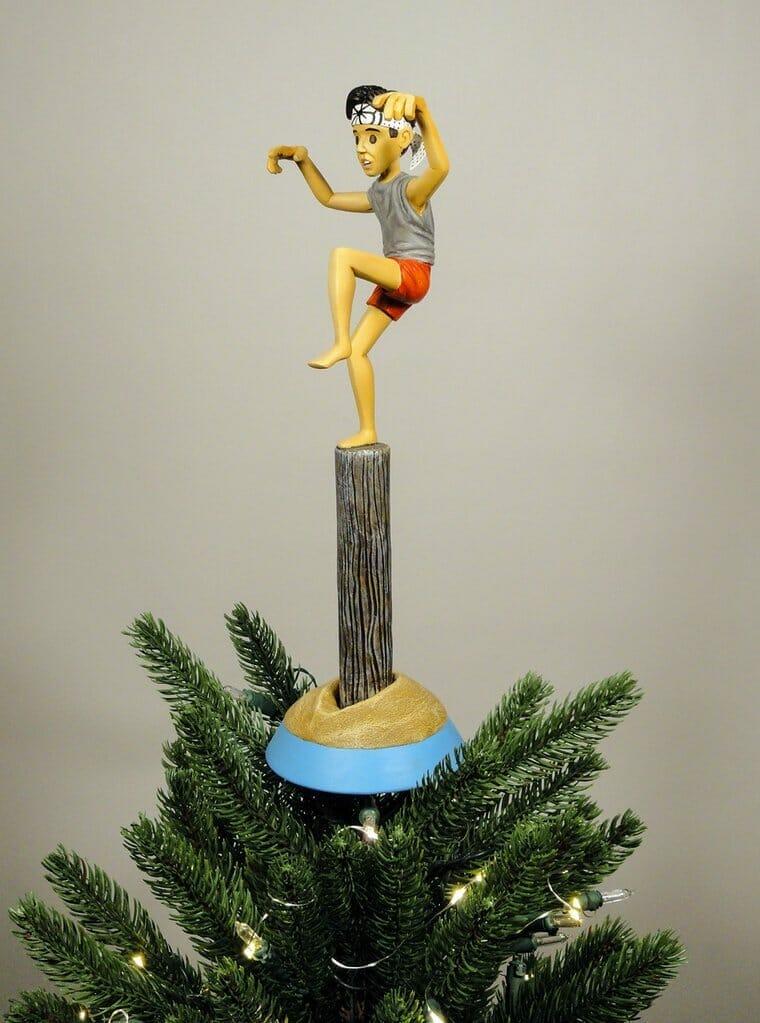 Karate Kid  christmas tree topper
