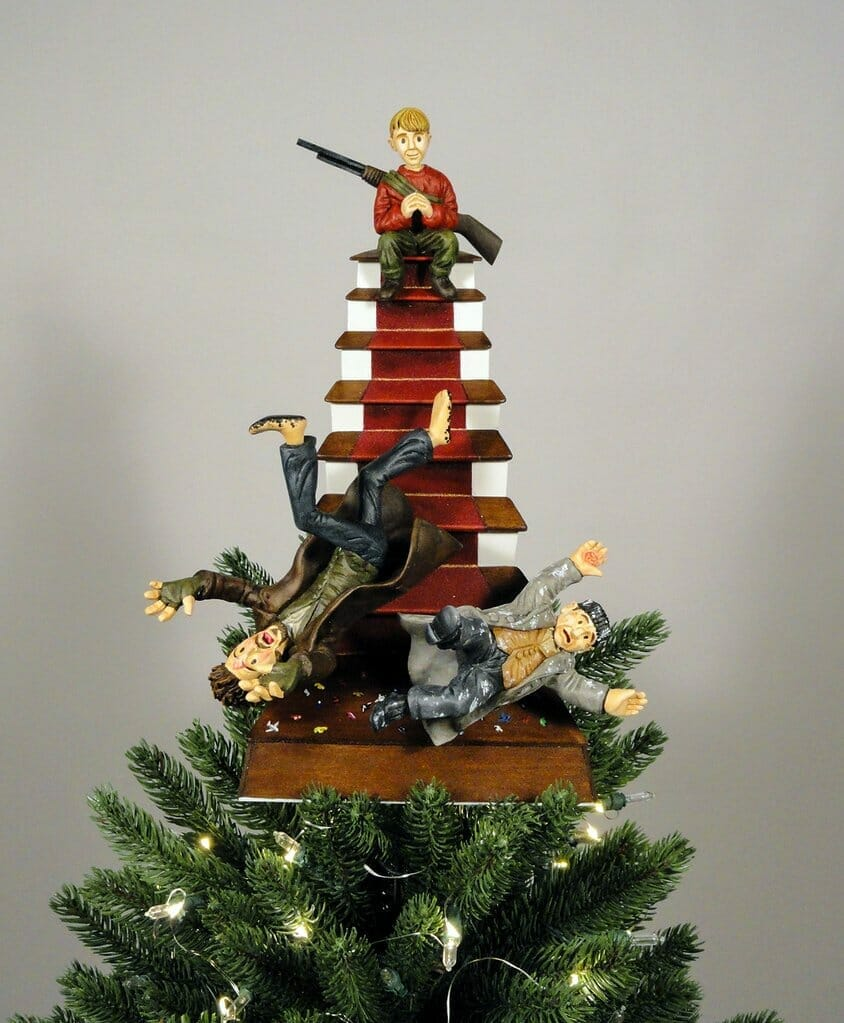 Home Alone  christmas tree topper