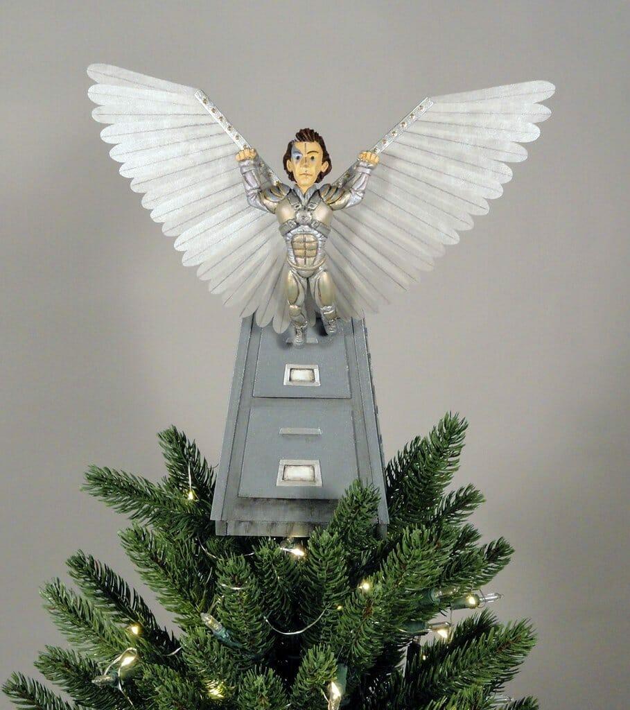 Brazil  christmas tree topper