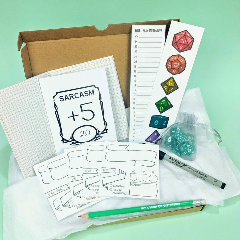 D&D gift box