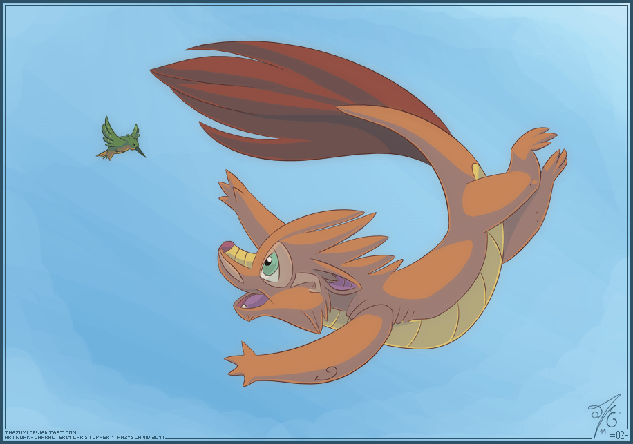 Eastern Dragon Float by thazumi