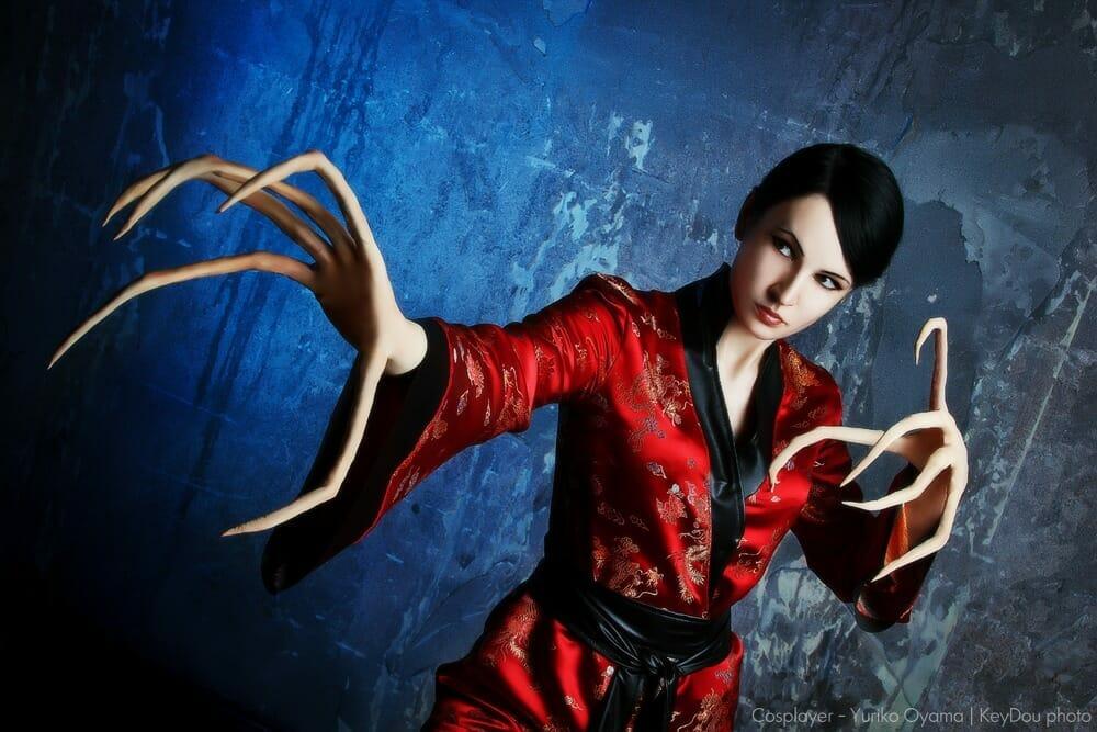 Yuriko Oyama is Lady Deathstrike.