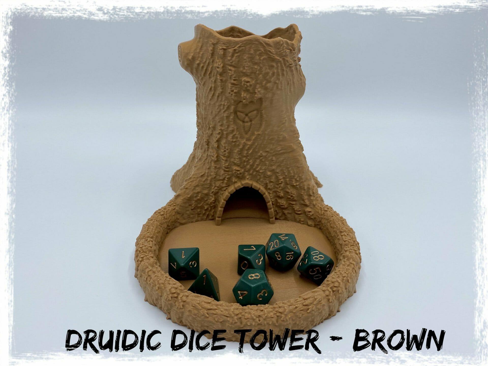 Druidic dice tower