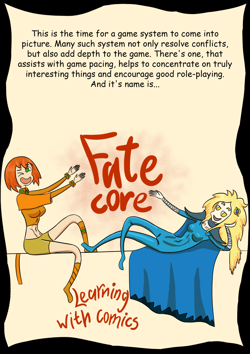 How do you play Fate Core?