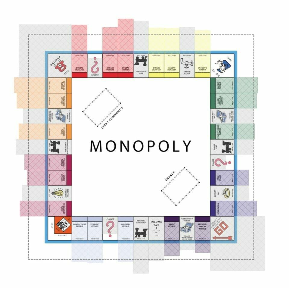 Monopoly data visual