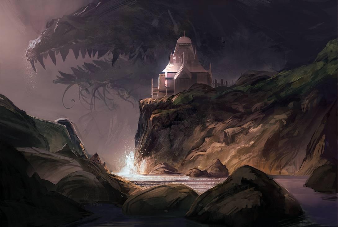 Temple of the Sea Gods by Sandro Rybak
