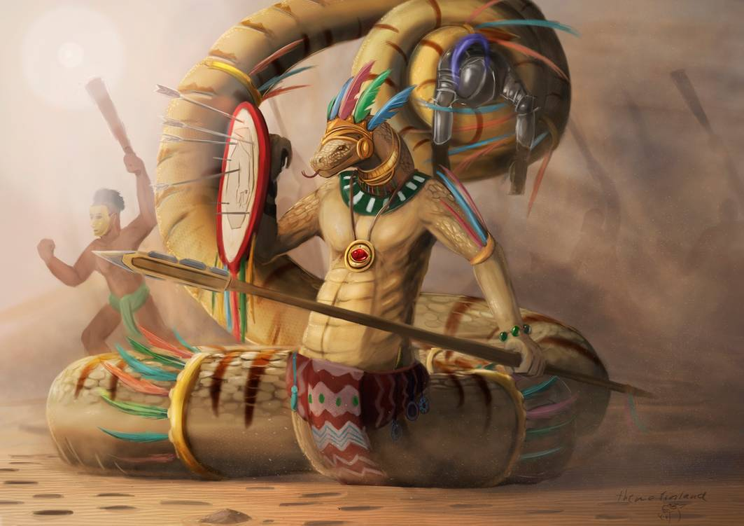 Ascended high priest of Quetzalcoatl by Theme Finland
