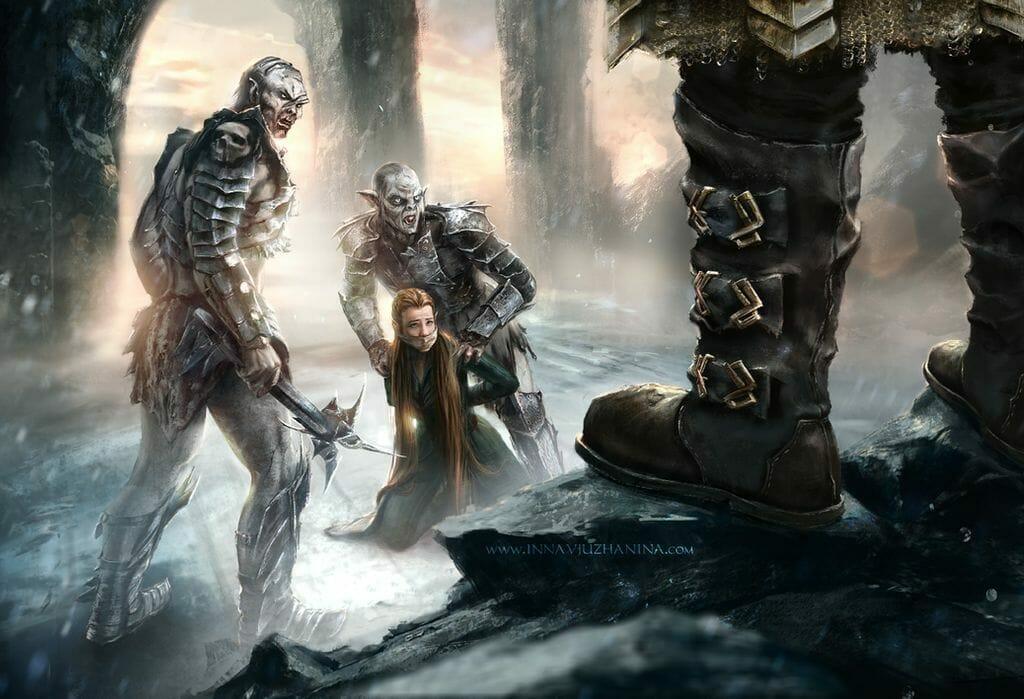 Hobbit - Alt.Ending Scene by Inna Vjuzhanina
