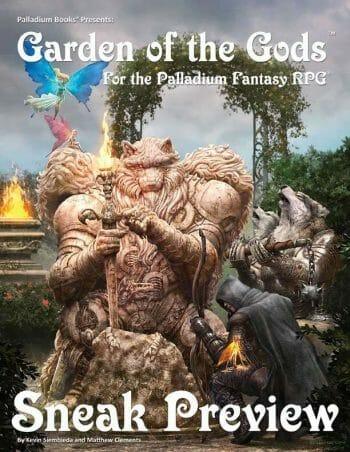 Garden of the Gods for the Palladium Fantasy RPG
