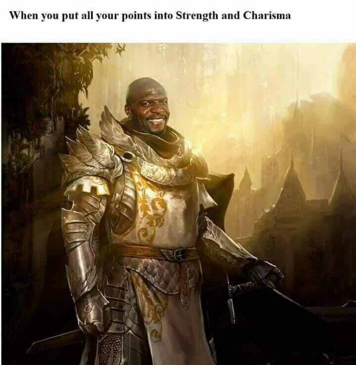 #10 - Points into Strength and Charisma