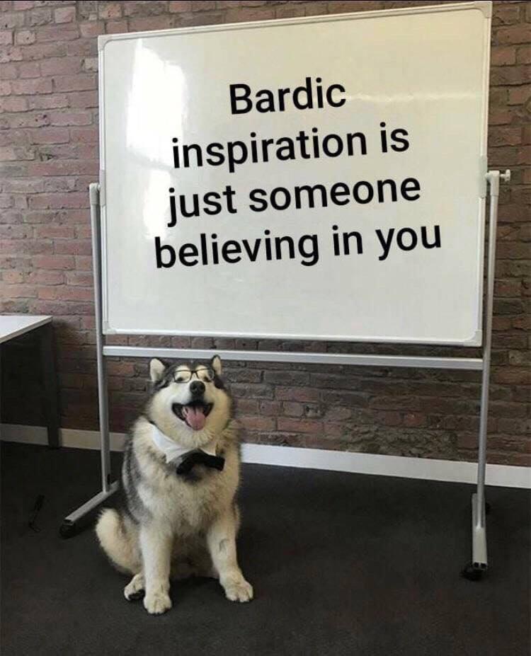#11 - Bardic inspiration