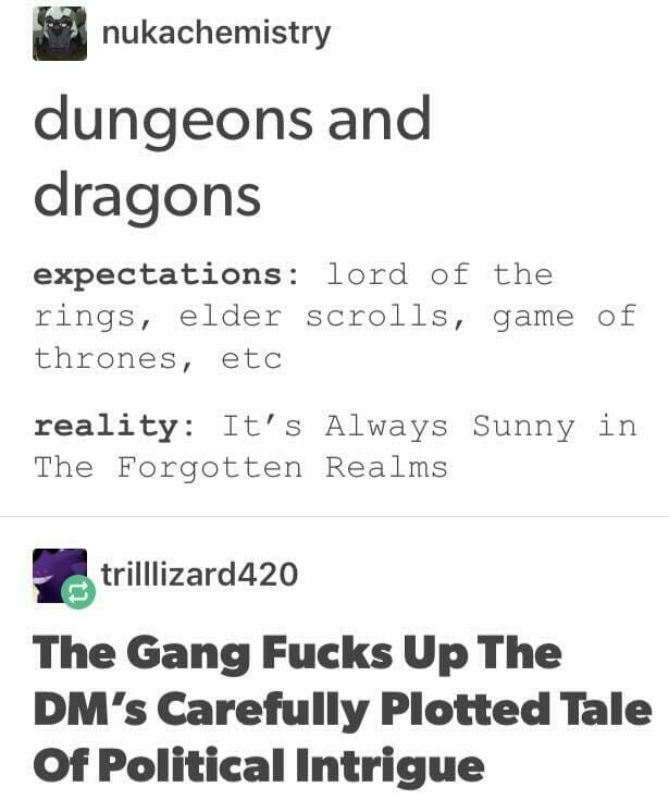 #16 - It's Always Sunny in The Forgotten Realms