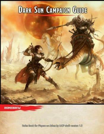 Dark Sun Campaign Guide (homebrew)
