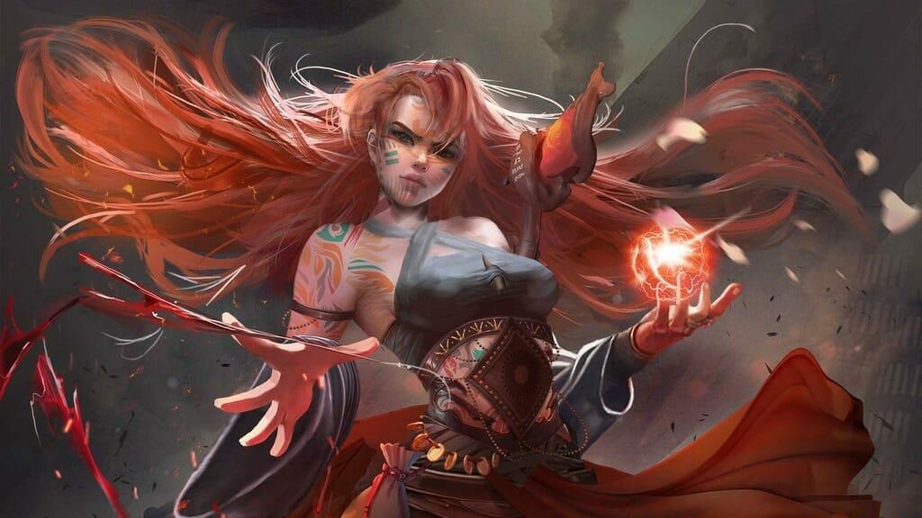 RPG Battles: The Sorceress