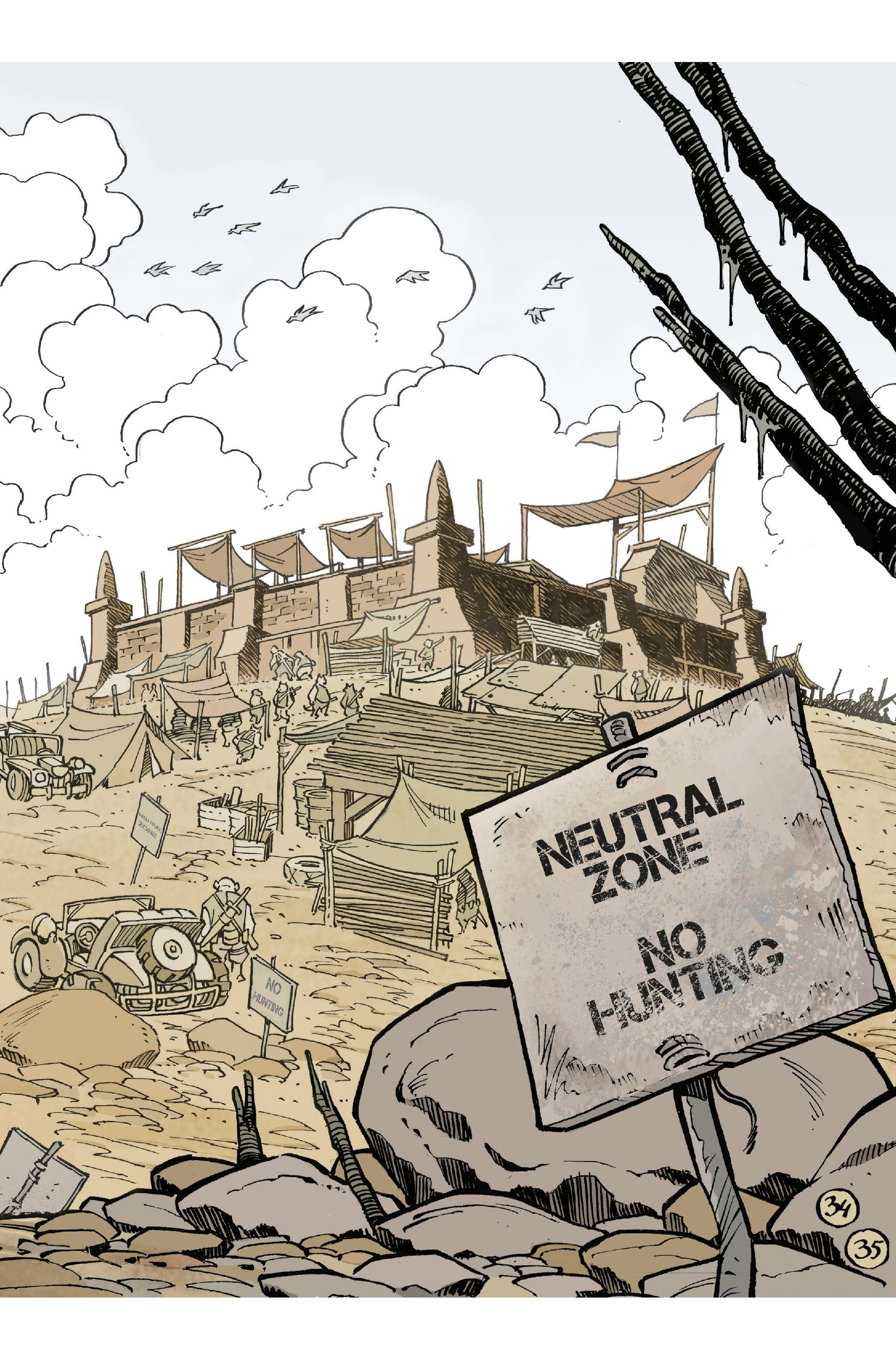 Neutral Zone - No Hunting