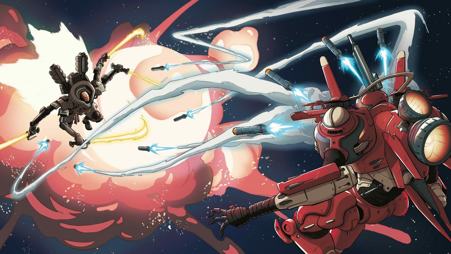 Lancer space battles