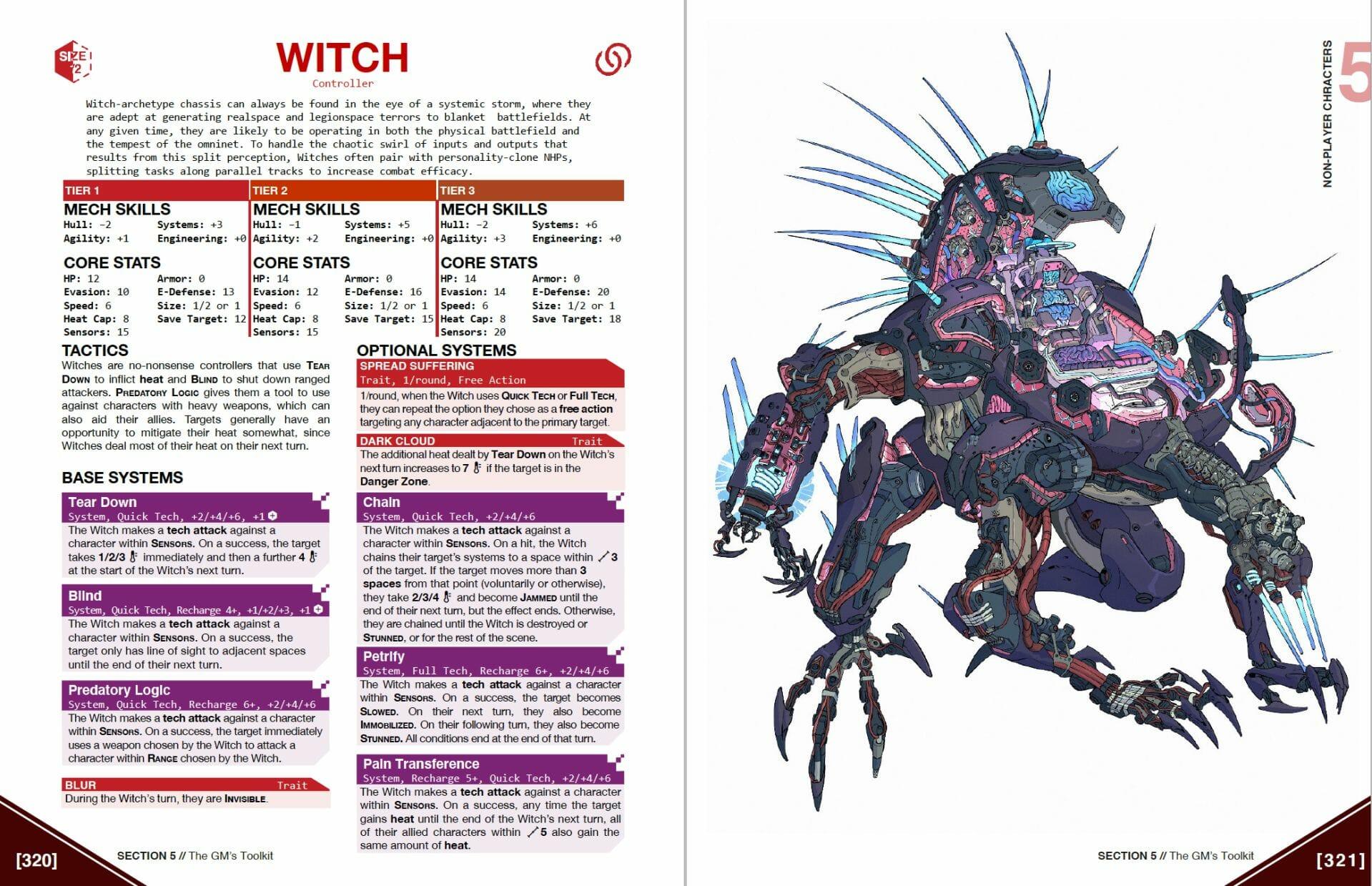 Lancer Witch