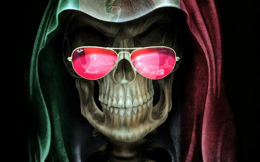 Mexican Grim Reaper by The Ebony Beast-Man