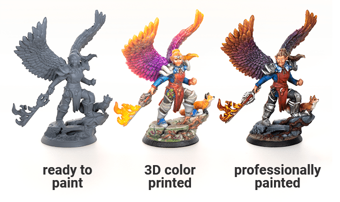 Hero Forge 2.0 examples