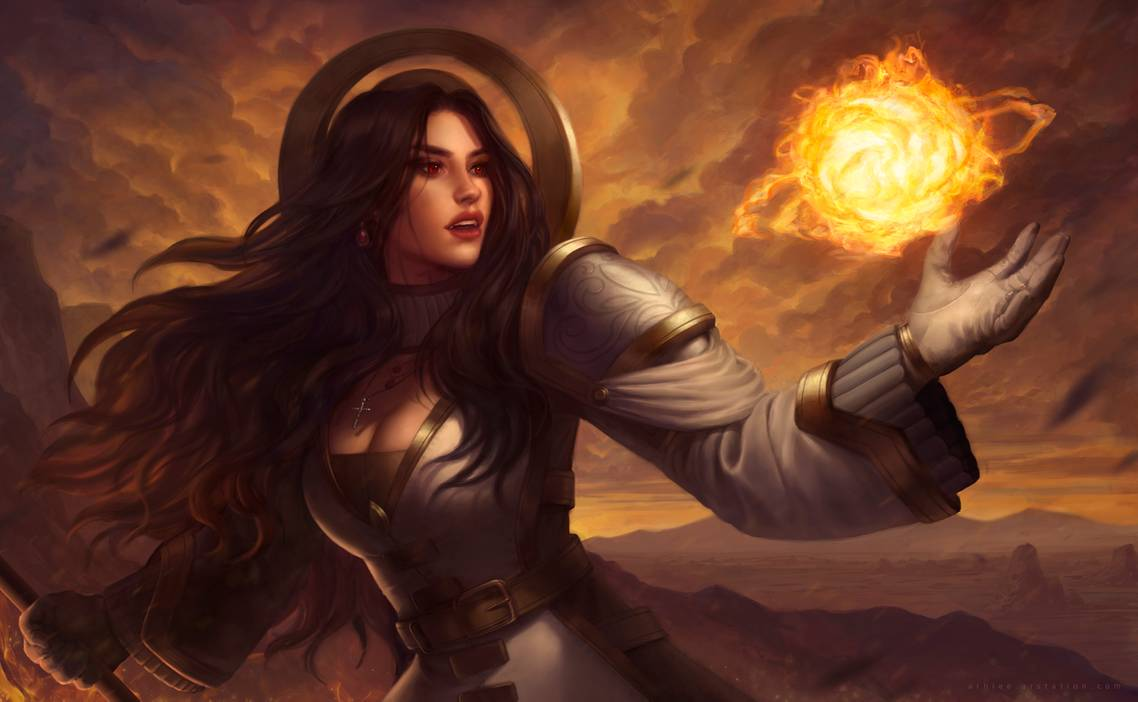Firecaster Skyler by arhiee