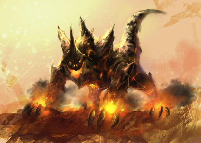 Magma Monster by saifful johan foo