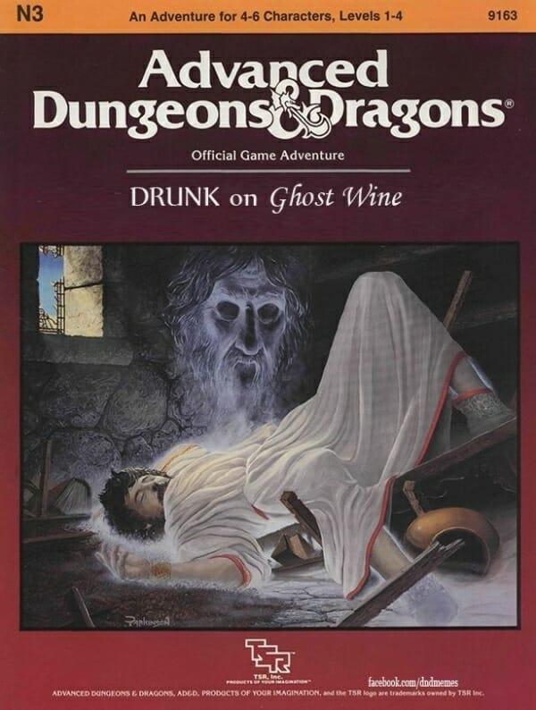 Drunk on Ghost Wine