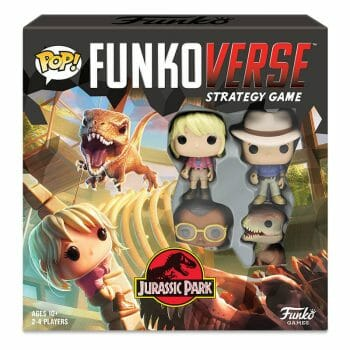 Jurassic Park - Funkoverse Strategy Game