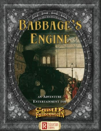 Castle Falkenstein - Babbage's Engine