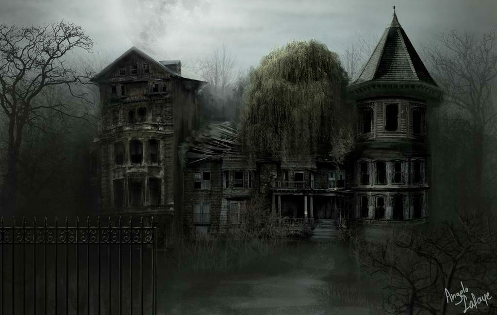 Ghost House by lafa-art