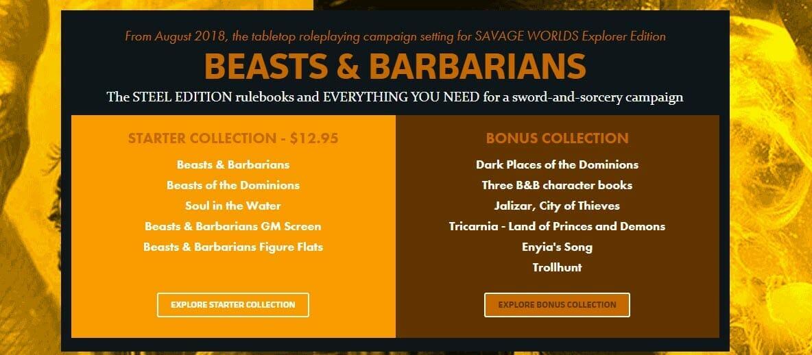 Beasts & Barbarians