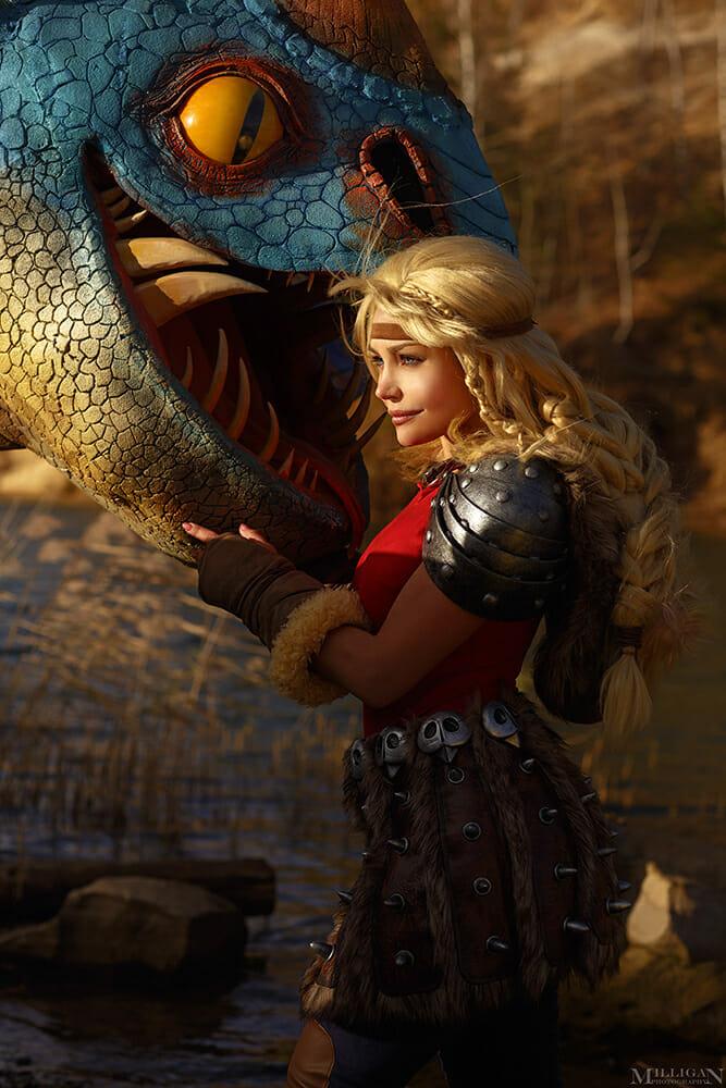 Astrid cosplay