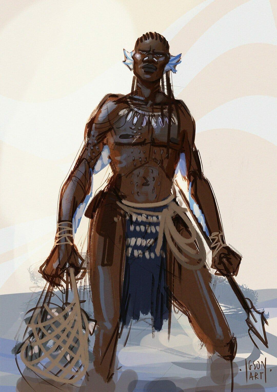 Wagadu lineage: Fish Folk
