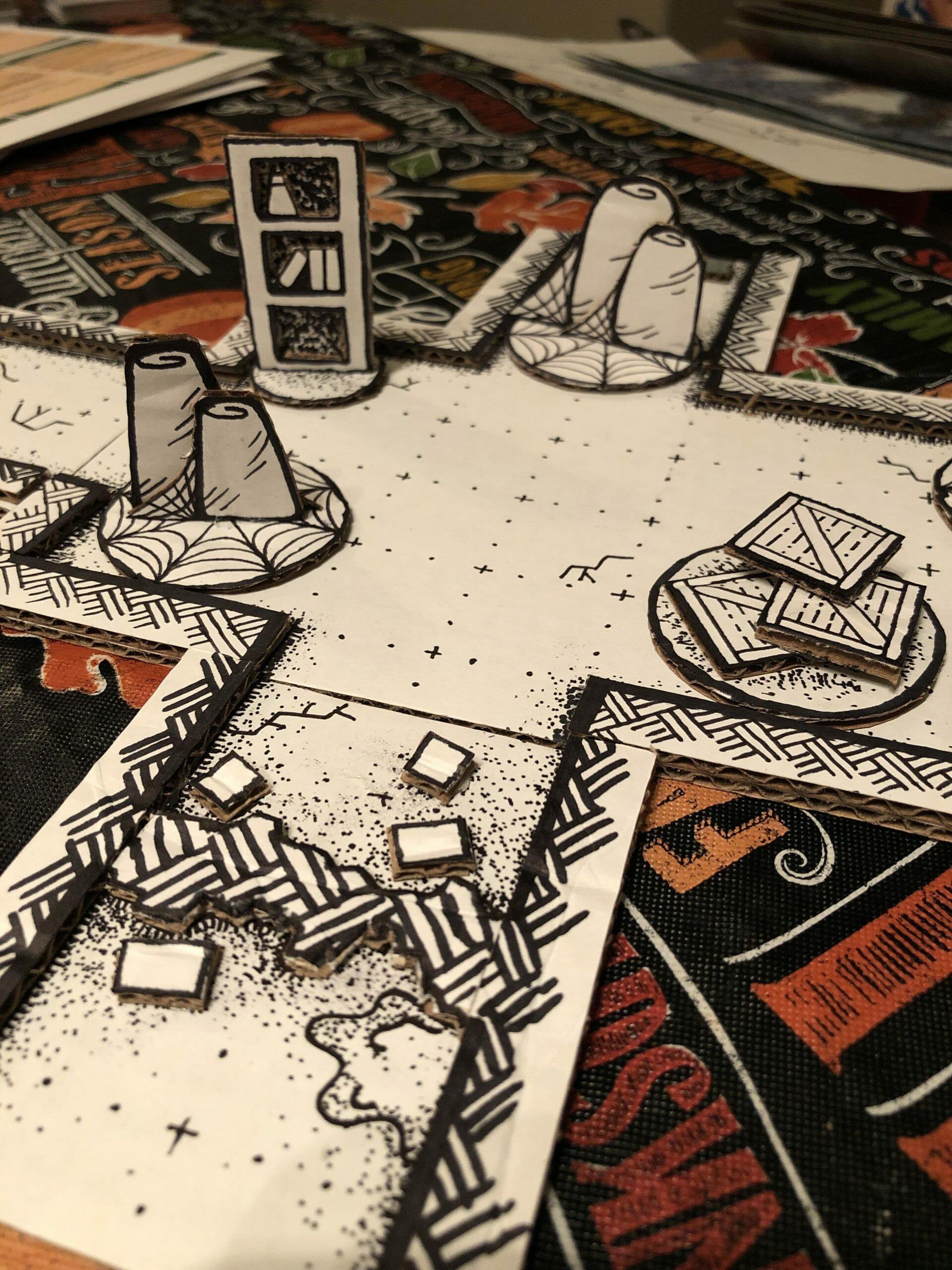 D&D battle mats