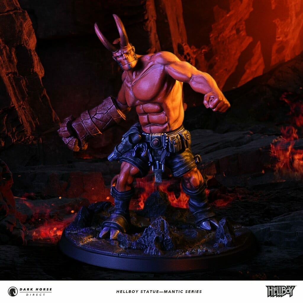 Mantic Games Hellboy statue